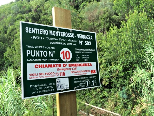 Hiking Monterosso and Vernazza