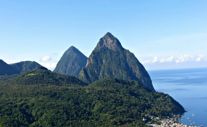 Gros Piton in Saint Lucia