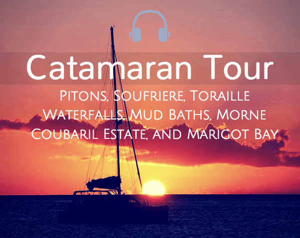 Catamaran Tour St Lucia