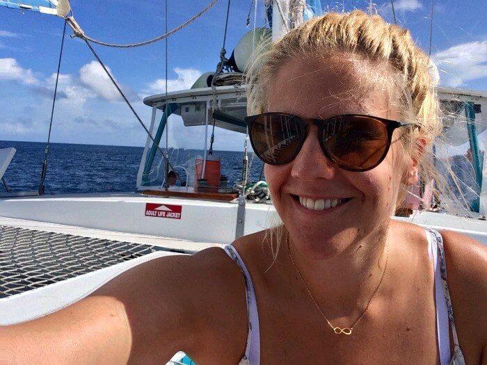 sailing a catamaran saint lucia