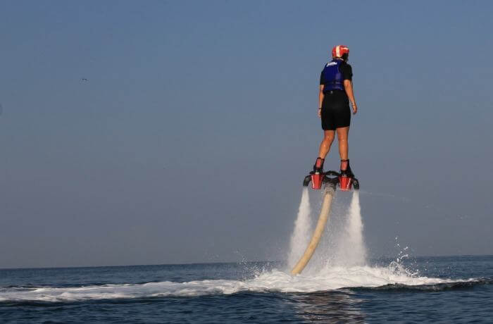 Flyboarding in Mexico