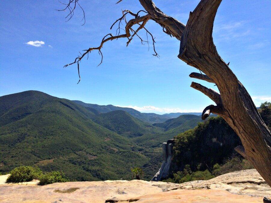 Postcard from Hierve el Agua