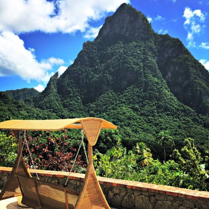 Chilling in Saint Lucia