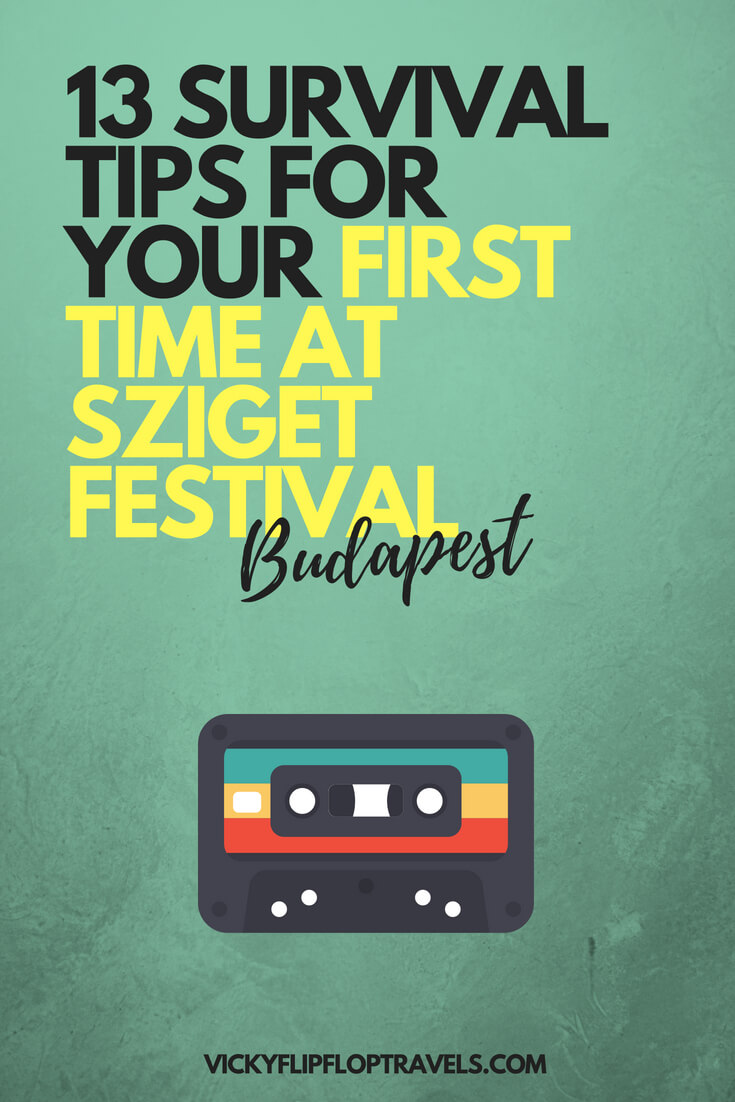 tips for sziget festival