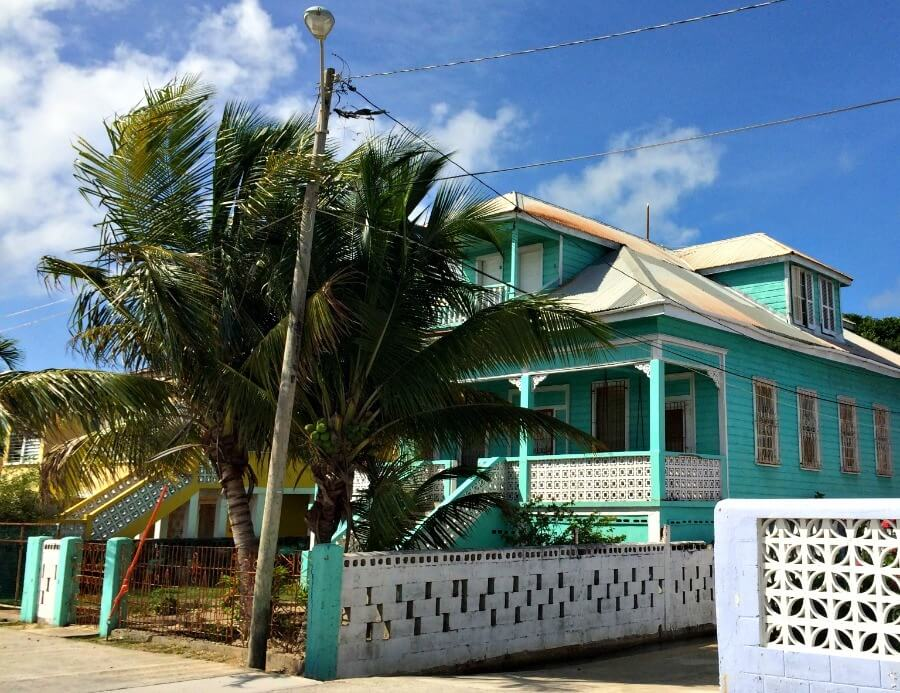 Blue House in Belize City