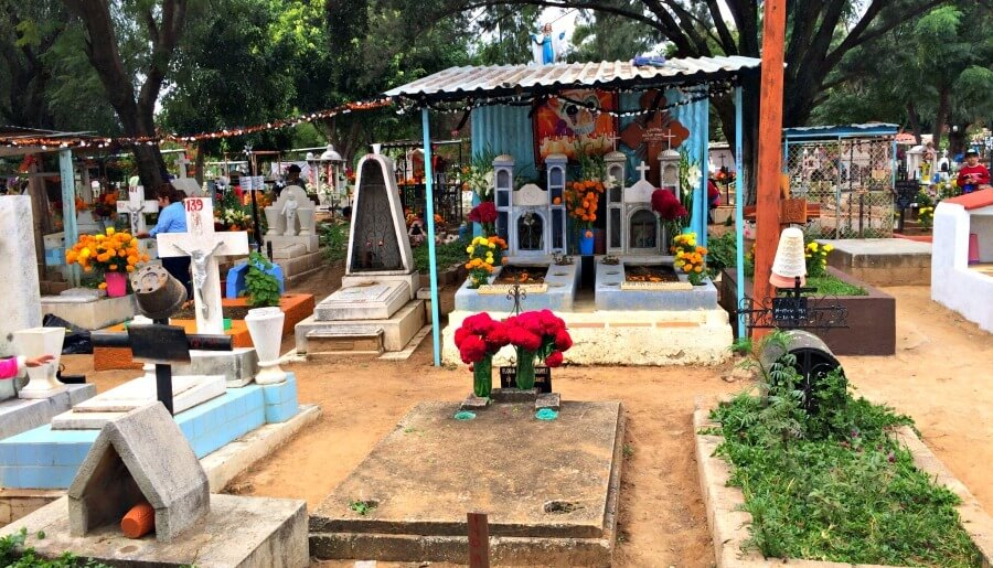Day of the Dead Festival grave