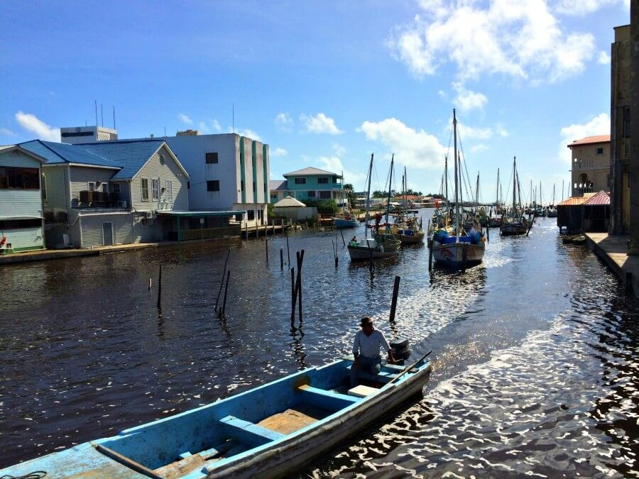 The Quay in Belize CIty