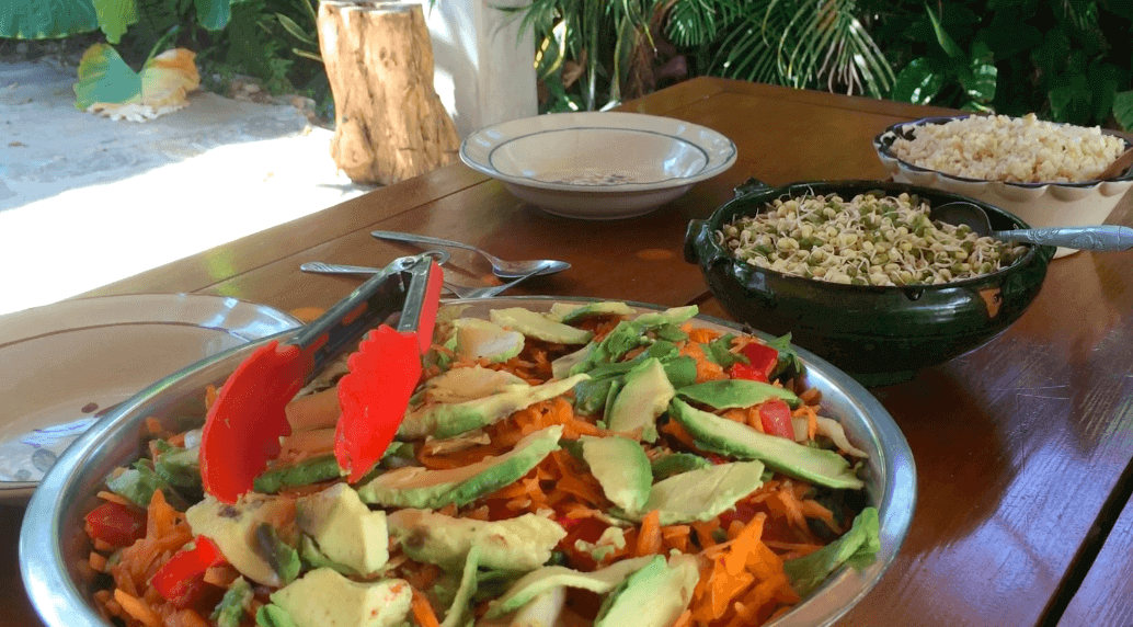 Food at The Sanctuary