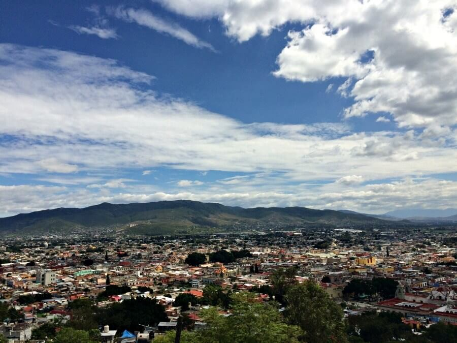 Views over Oaxaca