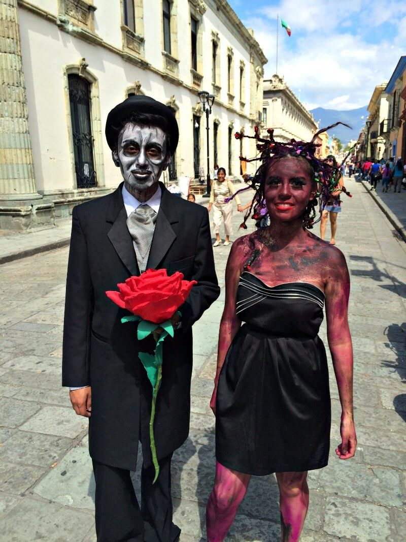 halloween at day of the dead festival