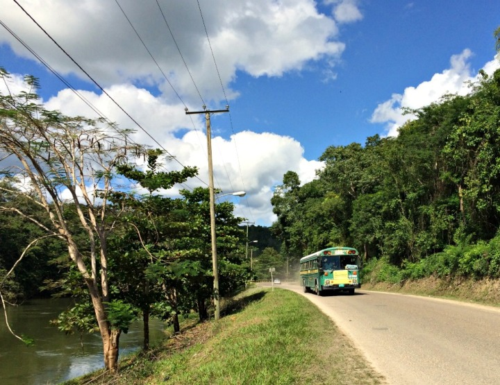 How to Travel By Bus in Belize