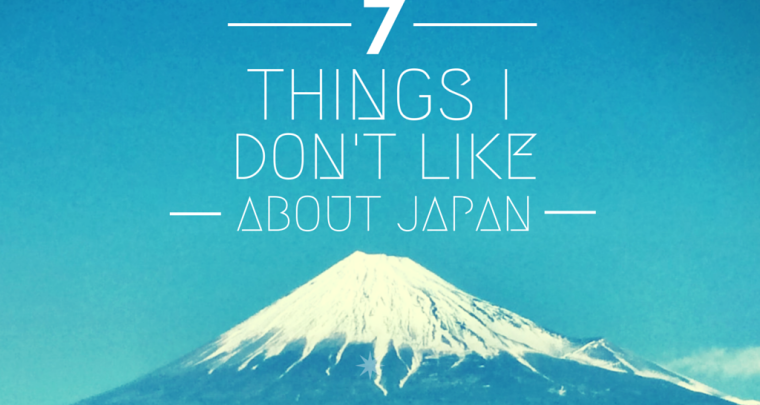 7 Things Japan and I Definitely Don't Agree On