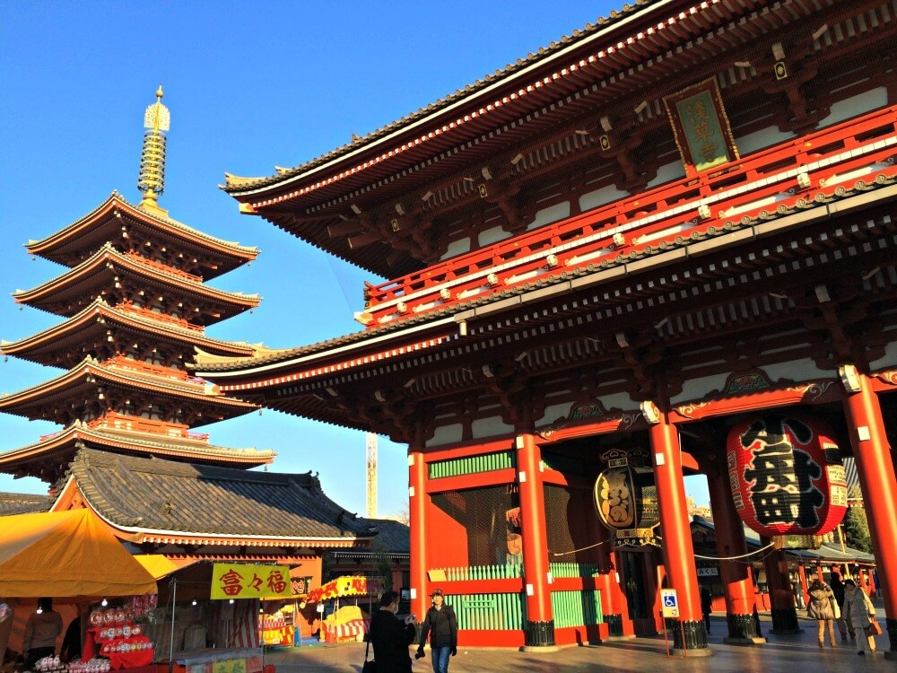 Sensoji Temple from the outside
