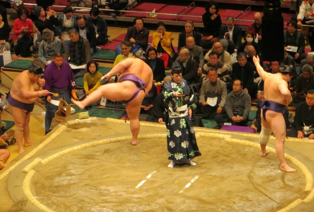 What is sumo wrestling?
