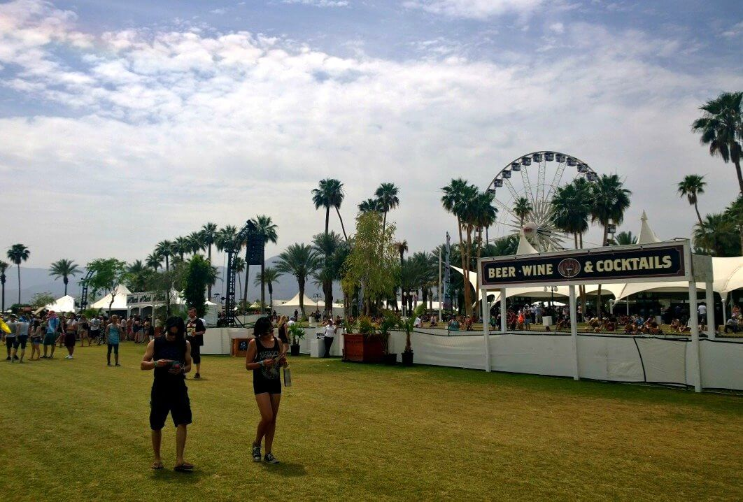 Escape the heat of Coachella Festival