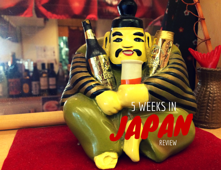 5 Weeks in Japan Trip Round Up