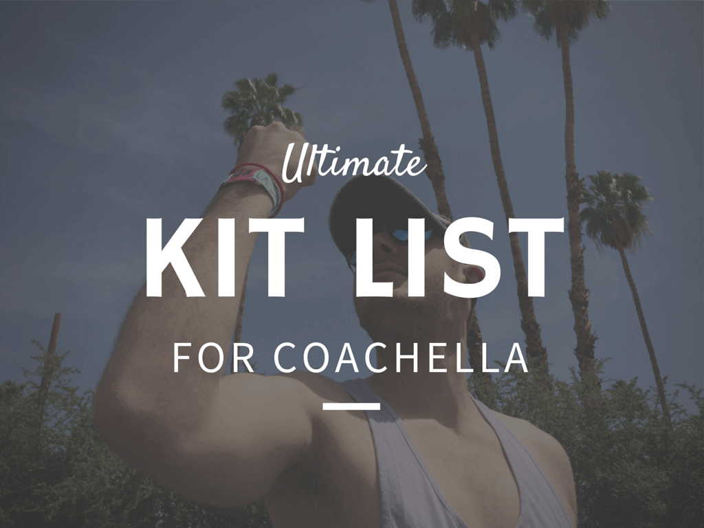 Everything you need from Walmart for Coachella