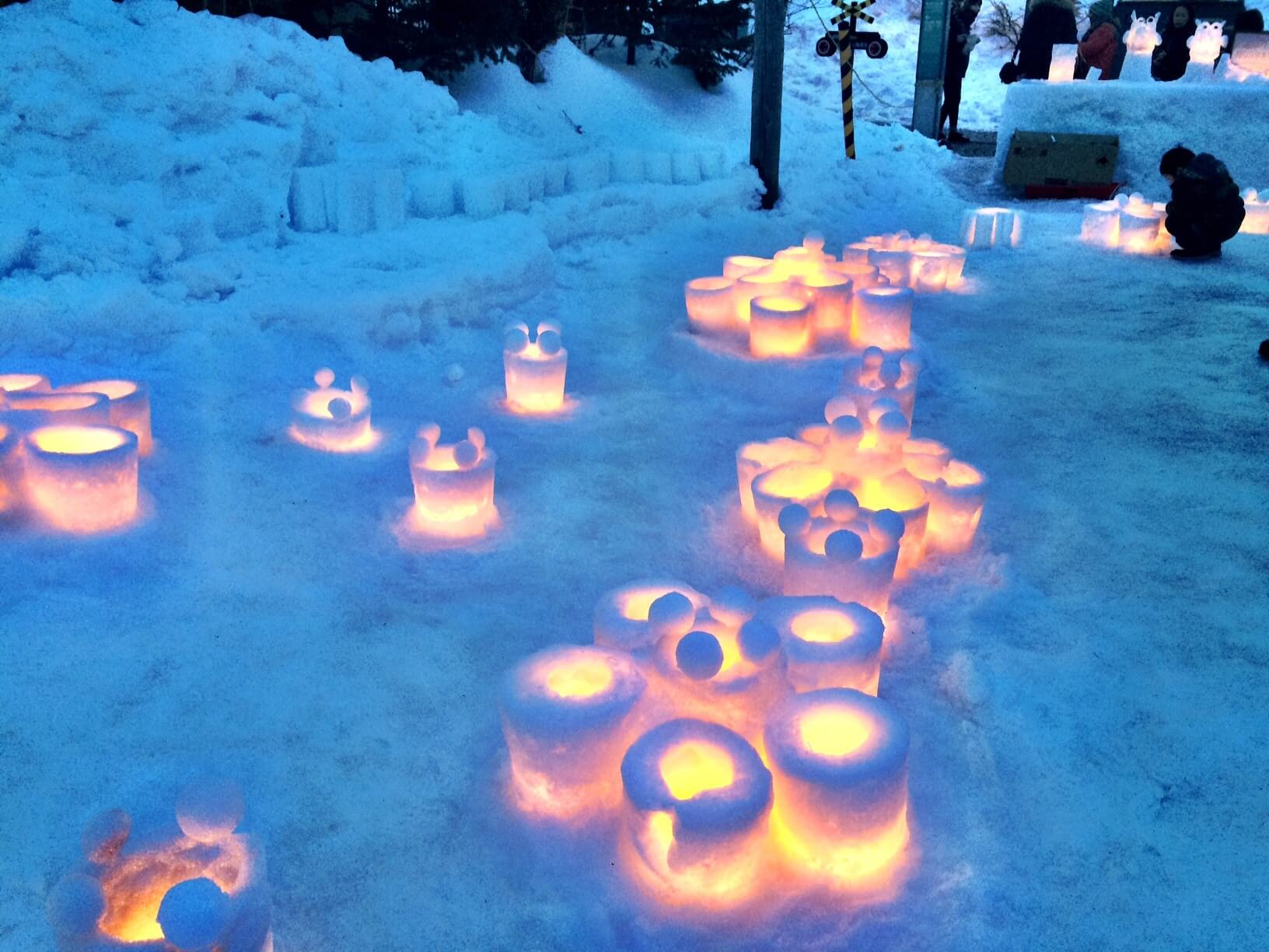 Otaru Light Path Festival