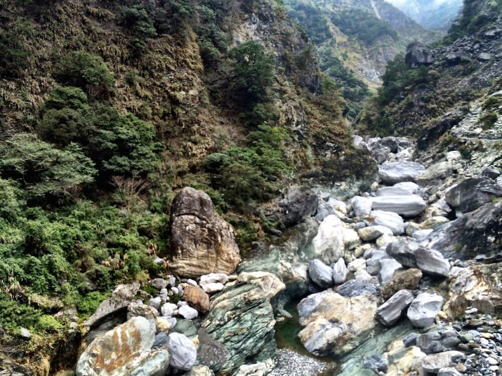 View of the Taroko Gorge