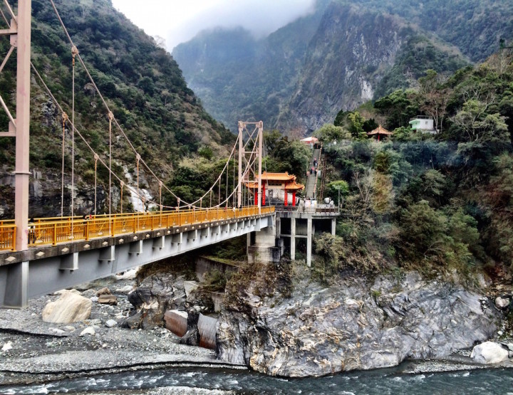 My Super Strange, Military-Style Visit to Taroko Gorge