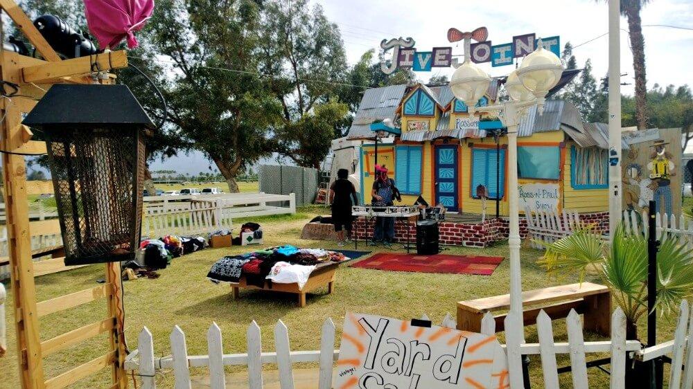 Coachella Festival on a Thursday