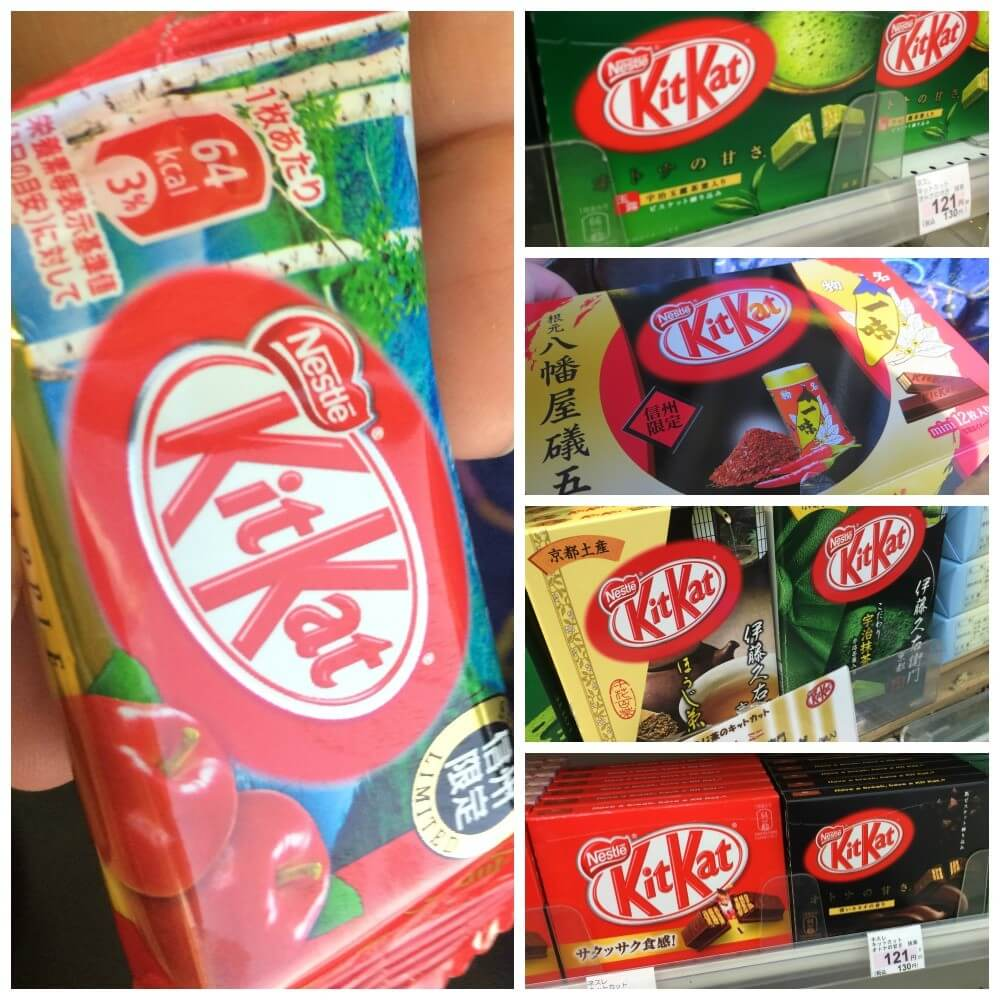 Crazy Japan and its crazy kit kats