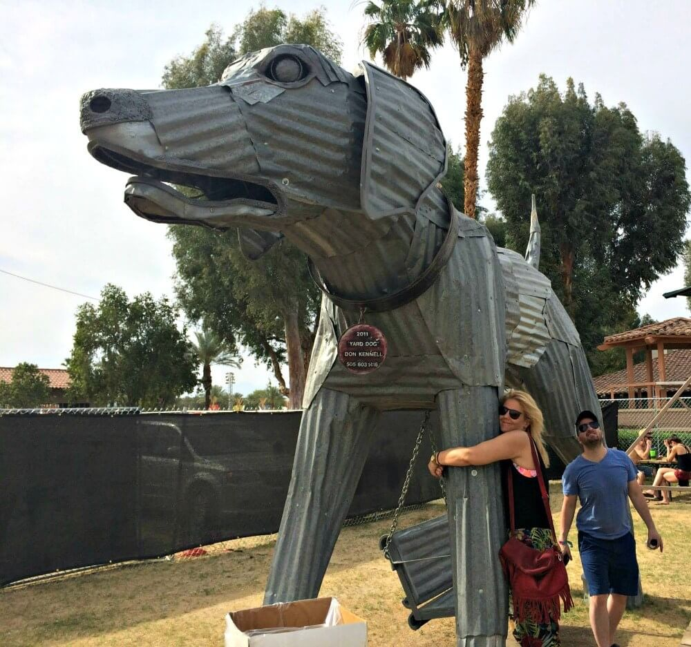 Exploring the Coachella Campsite