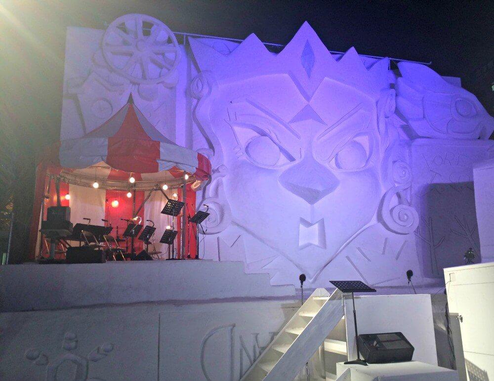 Photos of the Sapporo Ice Festival