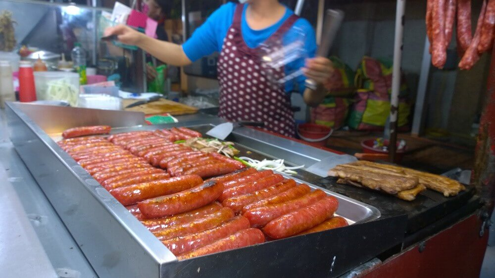 Visiting Kenting Street Market in kenting