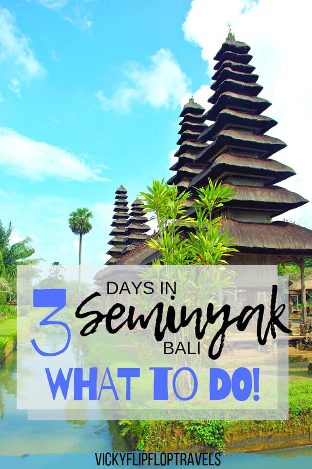 Seminyak for 3 days