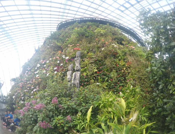 The Gardens by the Bay in Singapore: Bit Like Avatar