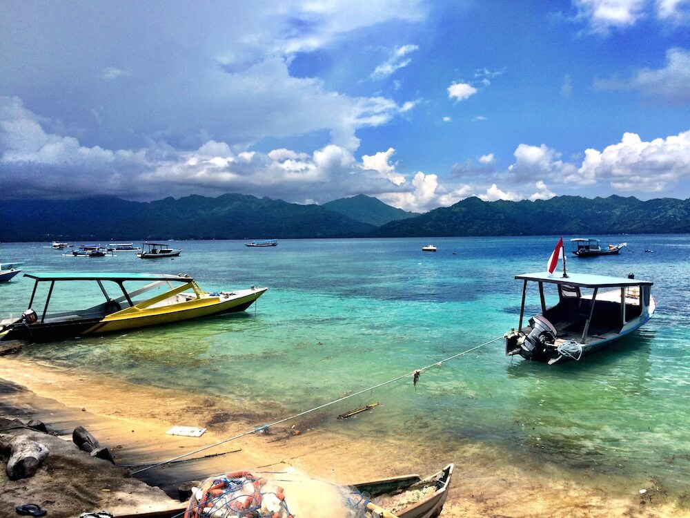 One week on Gili T