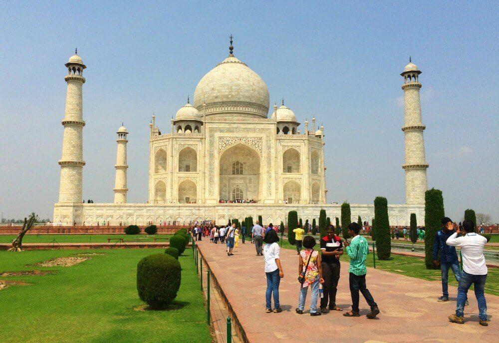 Exploring the Taj Mahal