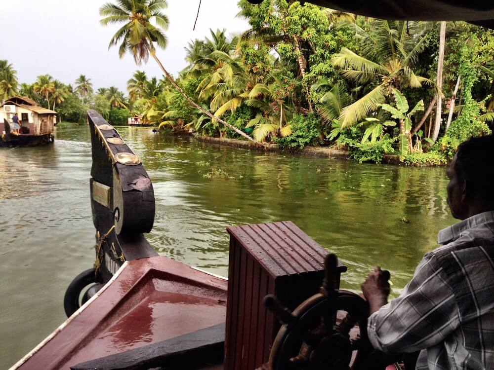 Exploring Kerala by houseboat