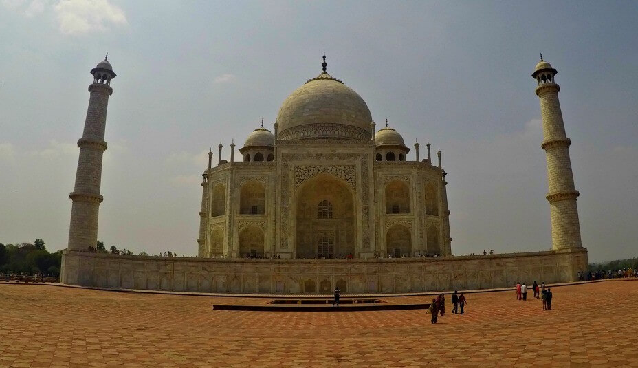 Photo of the Taj Mahal