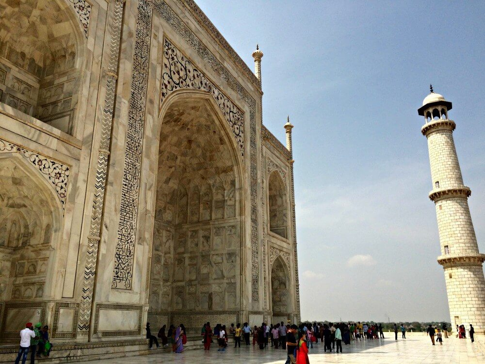 Taj Mahal in the day