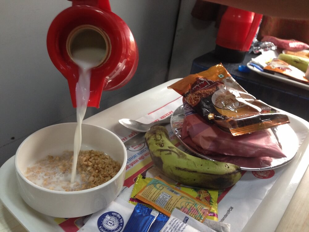 India train food