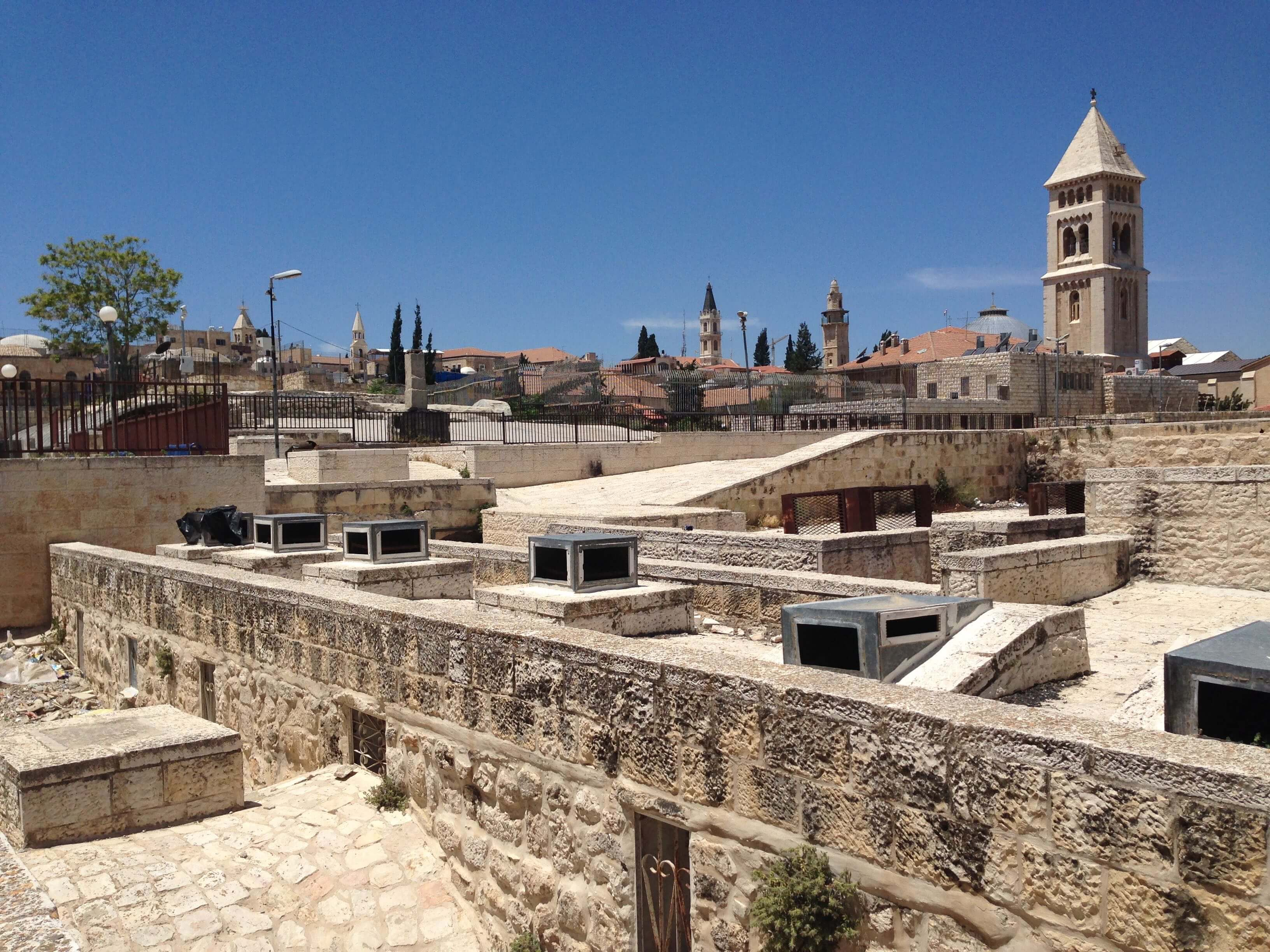 Religious crossways of Jerusalem