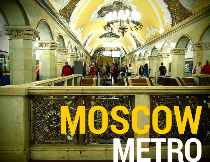 Photos of the Beautiful Moscow Metro