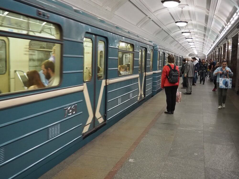 Carriage Photos of the Moscow Metro