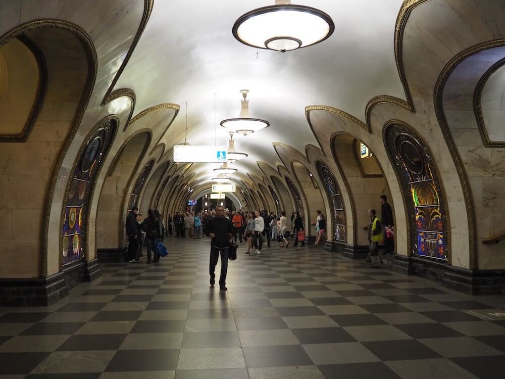 Cool pics of the Moscow Metro
