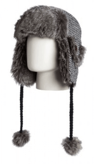 Roxy faux fur hat