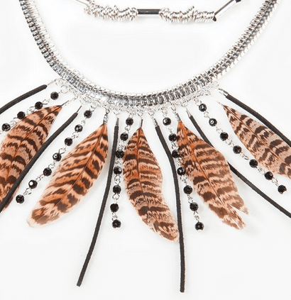 Awesome feather necklace