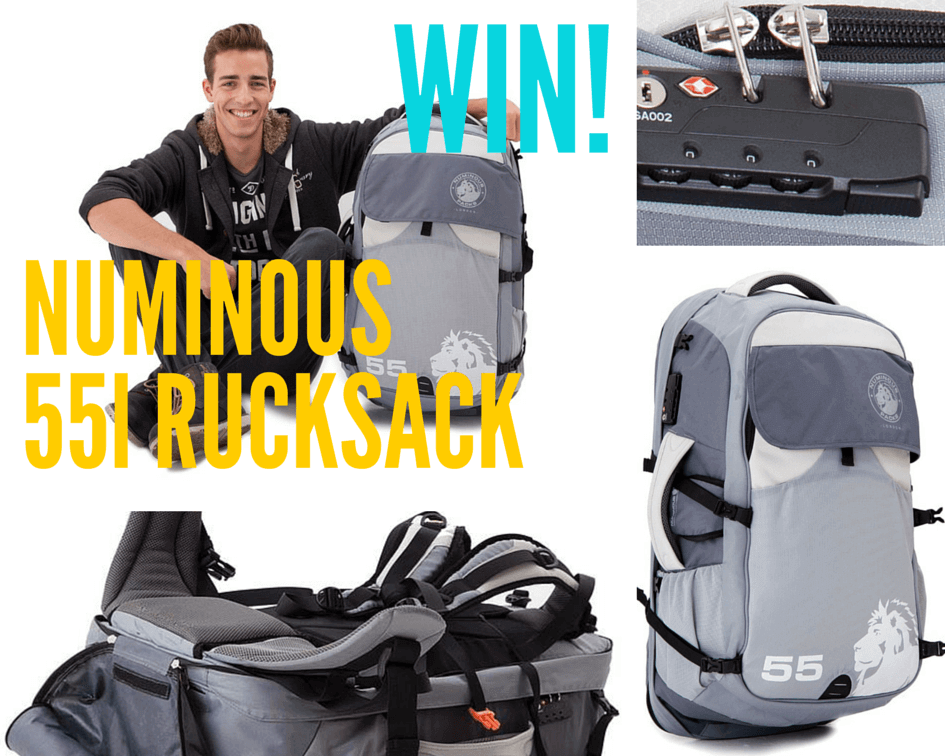 Numinous rucksack competition