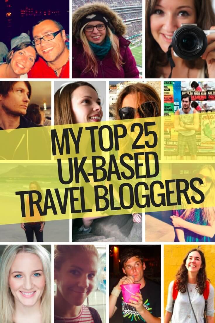 Best UK travel bloggers