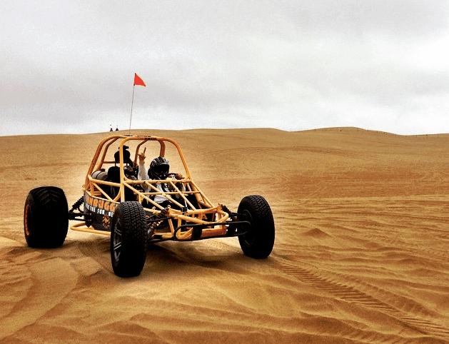 sand dune buggying