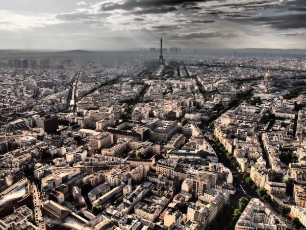 Montparnasse Tower view