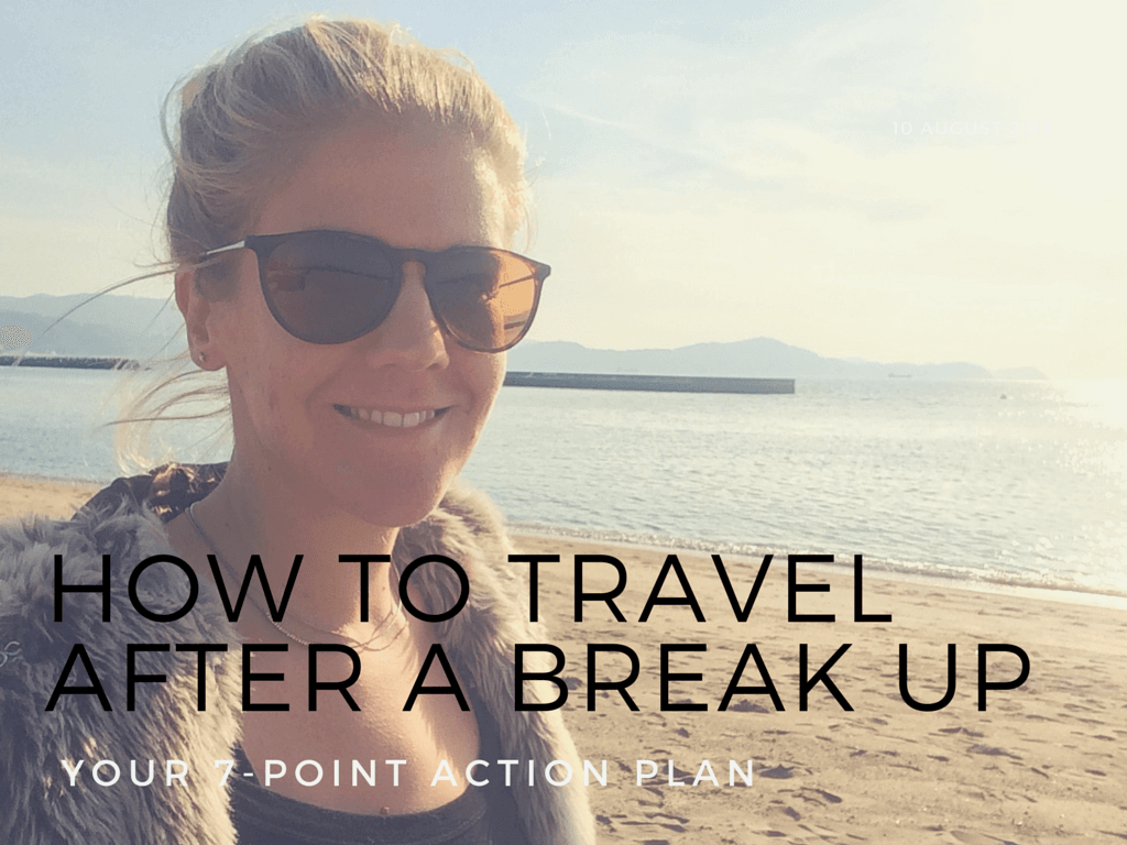 Travelling after a break up