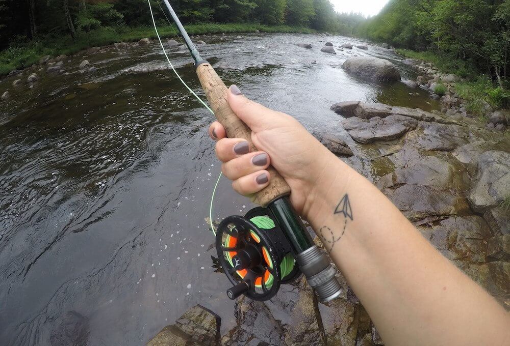 bikini fly fishing