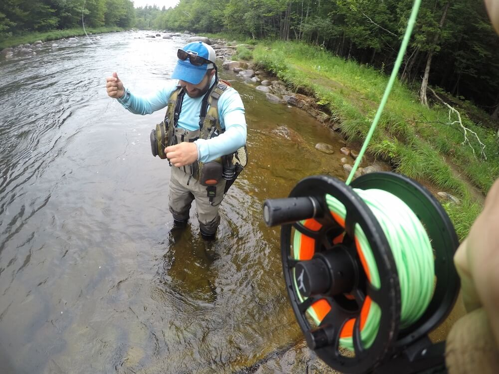 Fly fishing with Hungry Trout